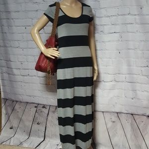 Derek Heart❤T-shirt Maxi Dress